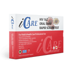 iCare® HIV 1 and 2 Oral Swap Rapid Screen Test